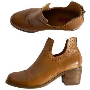 Miz Mooz Nicole Chestnutt studded ankle boot 7